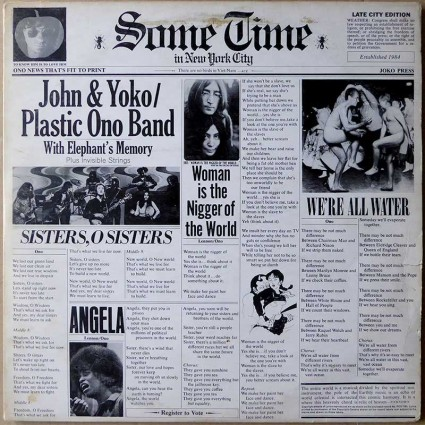 John Lennon & Plastic Ono Band - Some Time In New York City