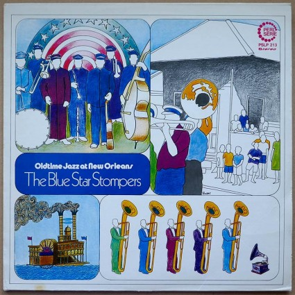 Blue Star Stompers, The - Oldtime Jazz At New Orleans