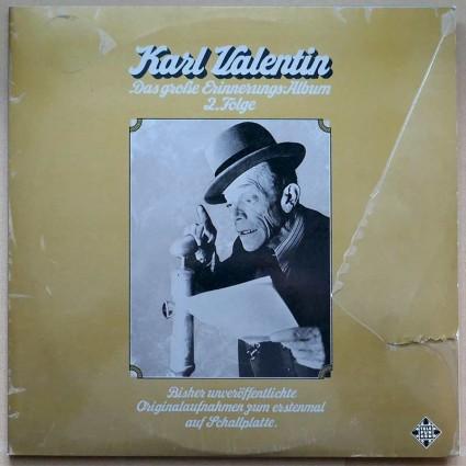 Karl Valentin -Das große Erinnerungs-Album 2. Folge / Karl Valentin - Liesl Karlstadt